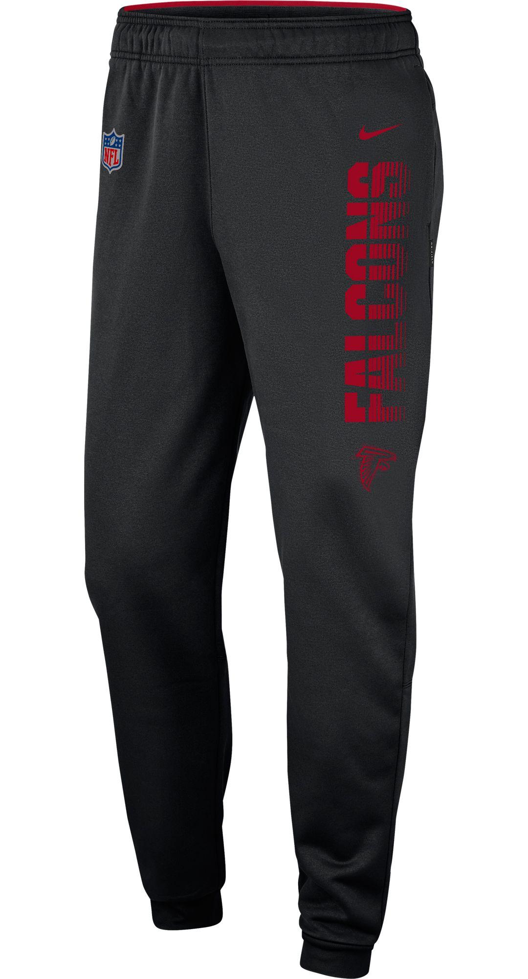 3cc012b9 Nike Men's Atlanta Falcons Sideline Therma-FIT Performance Black Pants