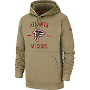 Nike Men's Salute to Service Atlanta Falcons Therma-FIT Beige Camo Hoodie