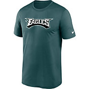 Nike Men's Philadelphia Eagles Sideline Dri-Fit Cotton  T-Shirt