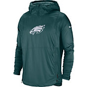 Nike Men's Philadelphia Eagles Sideline Repel Player Green Jacket