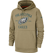 Nike Men's Salute to Service Philadelphia Eagles Therma-FIT Beige Camo Hoodie