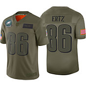 Nike Men's Salute to Service Philadelphia Eagles Zach Ertz #86 Olive Limited Jersey