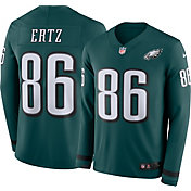 Nike Men's Philadelphia Eagles Zach Ertz #86 Therma-FIT Long Sleeve Jersey