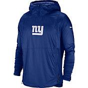 Nike Men's New York Giants Sideline Repel Player Blue Jacket