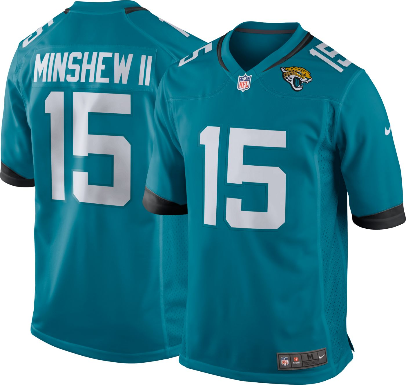 Nike Men's Alternate Game Jersey Jacksonville Jaguars Gardner Minshew II #15
