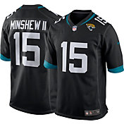Nike Men's Jacksonville Jaguars Gardner Minshew II #15 Black Game Jersey