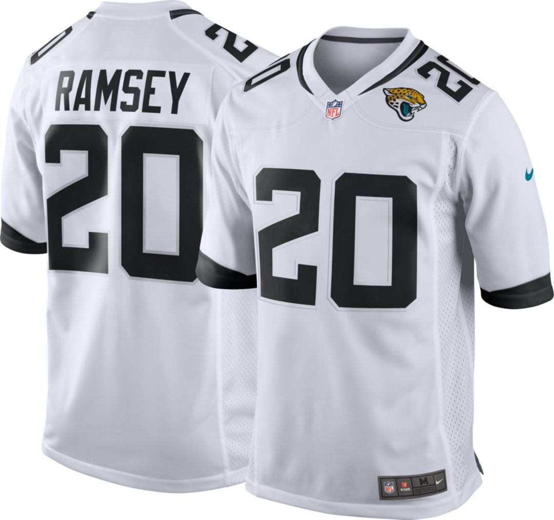 premium selection a0d31 89df4 Nike Men's Away Game Jersey Jacksonville Jaguars Jalen Ramsey #20