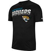Nike Men's Jacksonville Jaguars Sideline Legend Performance Black T-Shirt
