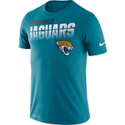 Nike Men's Jacksonville Jaguars Sideline Legend Performance Teal T-Shirt