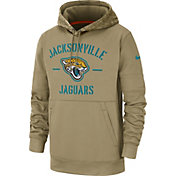 Nike Men's Salute to Service Jacksonville Jaguars Therma-FIT Beige Camo Hoodie