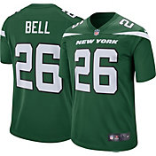 Nike Men's New York Jets Le'Veon Bell #26 Green Game Jersey