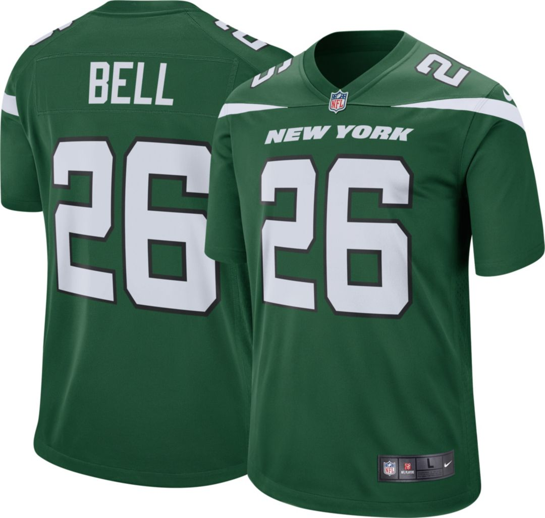 super popular 42159 d0ccc Nike Men's Home Game Jersey New York Jets Le'Veon Bell #26