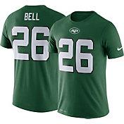 Nike Men's New York Jets Le'Veon Bell #26 Logo Green T-Shirt