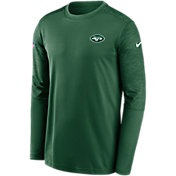 Nike Men's New York Jets Sideline Coach Long-Sleeve T-Shirt