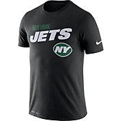 Nike Men's New York Jets Sideline Legend Performance Black T-Shirt