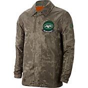 Nike Men's Salute to Service New York Jets Olive Lightweight Jacket