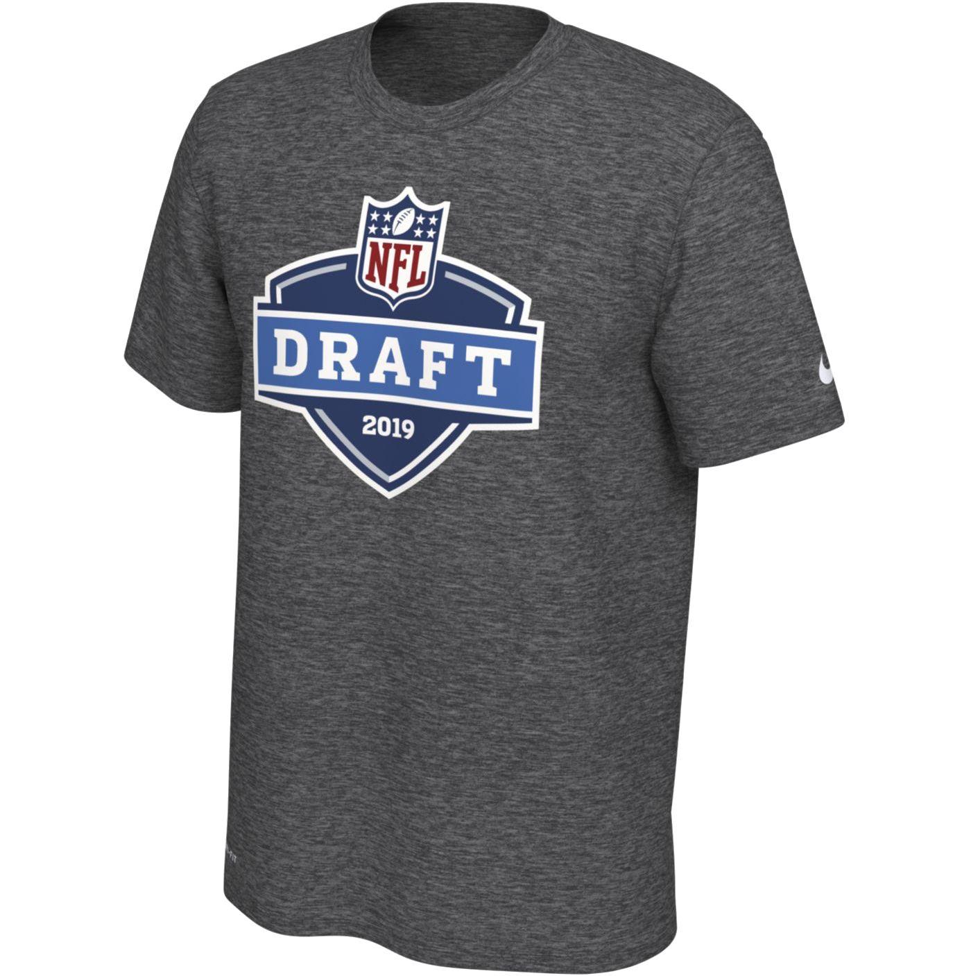 Nike Men's NFL Draft 2019 Legend Charcoal Performance T-Shirt