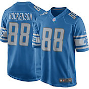Nike Men's Detroit Lions T.J. Hockenson #88 Blue Game Jersey
