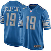 Nike Men's Detroit Lions Kenny Golladay #19 Blue Game Jersey