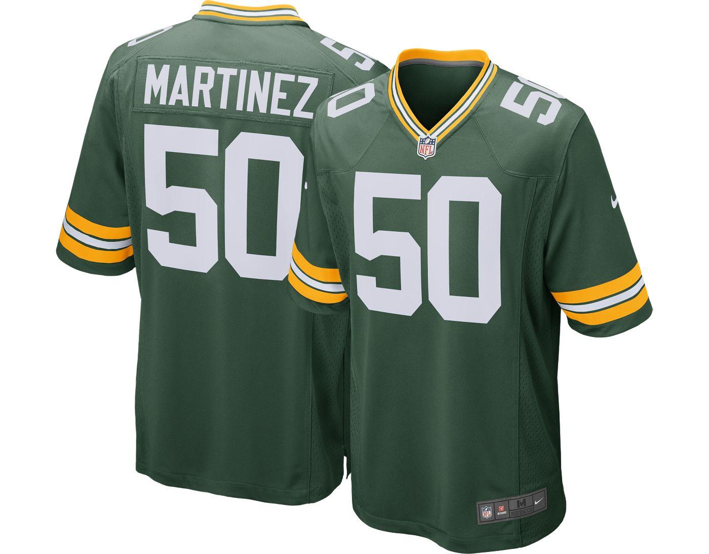 Nike Men's Home Game Jersey Green Bay Packers Blake Martinez #50