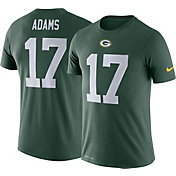 Nike Men's Green Bay Packers Davante Adams #17 Logo Green T-Shirt