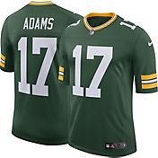 Nike Men's 100th Home Limited Jersey Green Bay Packers Davante Adams #17