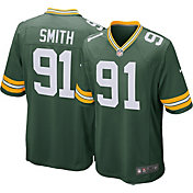 Nike Men's Green Bay Packers Preston Smith #91 Green Game Jersey