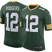 Nike Men's 100th Home Limited Jersey Green Bay Packers Aaron Rodgers #12