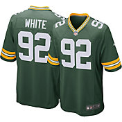 Nike Men's Home Game Jersey Green Bay Packers Reggie White #92