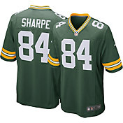 Nike Men's Home Game Jersey Green Bay Packers Sterling Sharpe #84
