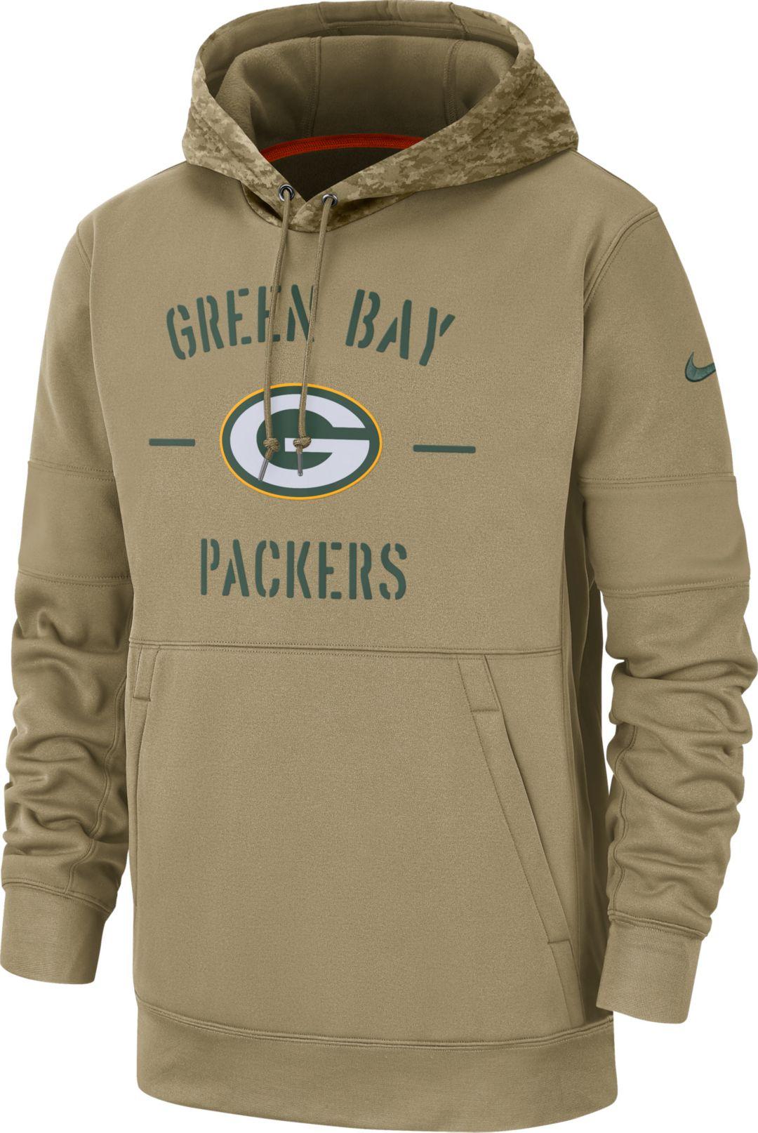Ladies Nike Therma Fit NFL Packers Hoodie, Large!