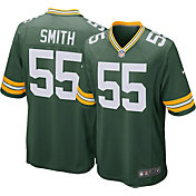 Nike Men's Green Bay Packers Za'Darius Smith #55 Green Game Jersey