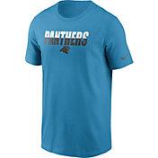 Nike Men's Carolina Panthers Split Name T-Shirt