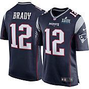 Nike Men's Super Bowl LIII Bound New England Patriots Tom Brady #12 Game Jersey