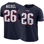 8099a035c Product Image · Nike Men s New England Patriots Sony Michel  26 Logo Navy T- Shirt