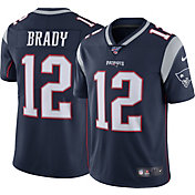 Nike Men's 100th Home Limited Jersey New England Patriots Tom Brady #12