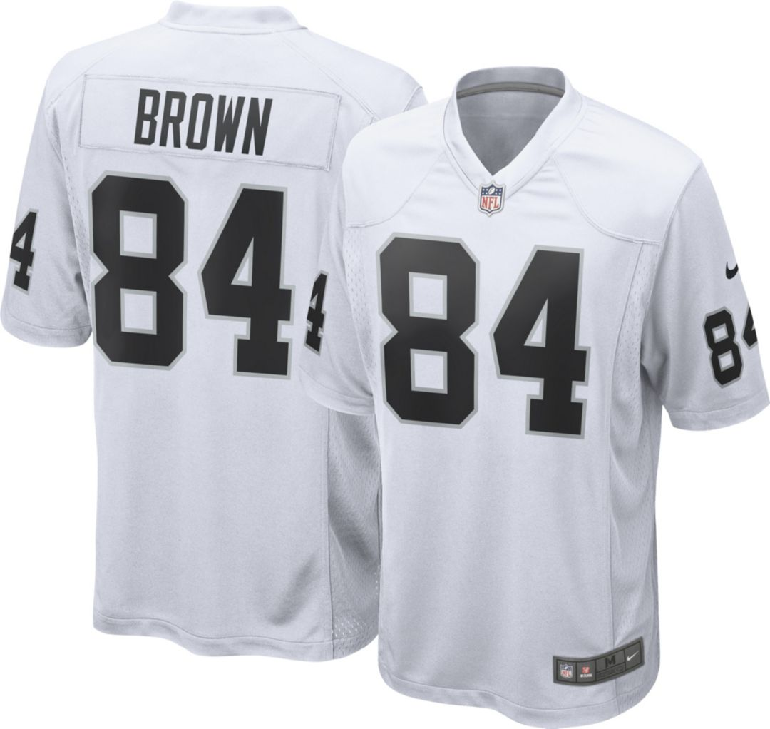 online store f231e 4eefa Antonio Brown Nike Men's Oakland Raiders Away Game Jersey ...