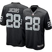 Nike Men's Las Vegas Raiders Josh Jacobs #28 Black Game Jersey