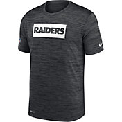 Nike Men's Las Vegas Raiders Sideline Legend Velocity Black T-Shirt