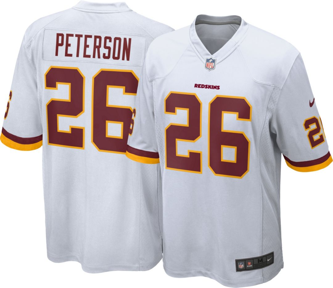 outlet store d82da 17d64 Nike Men's Away Game Jersey Washington Redskins Adrian Peterson #26