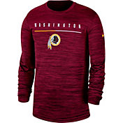 Nike Men's Washington Redskins Sideline Legend Velocity Red Long Sleeve Shirt
