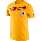 Nike Men's Washington Redskins Sideline Legend Performance Gold T-Shirt
