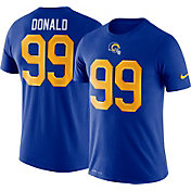 Nike Men's Los Angeles Rams Aaron Donald #99 Logo Royal T-Shirt