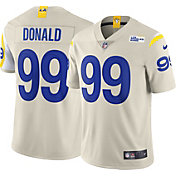 Nike Men's Los Angeles Rams Aaron Donald #99 White Limited Jersey