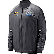 Nike Men's Super Bowl LIII Bound Los Angeles Rams Media Day Bomber Jacket
