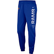 Nike Men's Los Angeles Rams Sideline Therma-FIT Performance Royal Pants