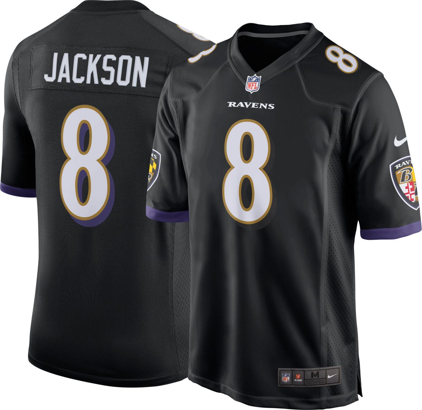 Nike Men's Alternate Game Jersey Baltimore Ravens Lamar Jackson #8