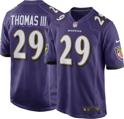 bfccec8e Nike Men's Home Game Jersey Baltimore Ravens Earl Thomas #29