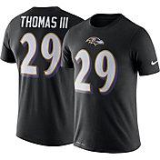 Nike Men's Baltimore Ravens Earl Thomas #29 Logo Black T-Shirt
