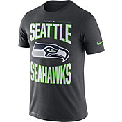 Nike Men's Seattle Seahawks Sideline Property Of Grey T-Shirt
